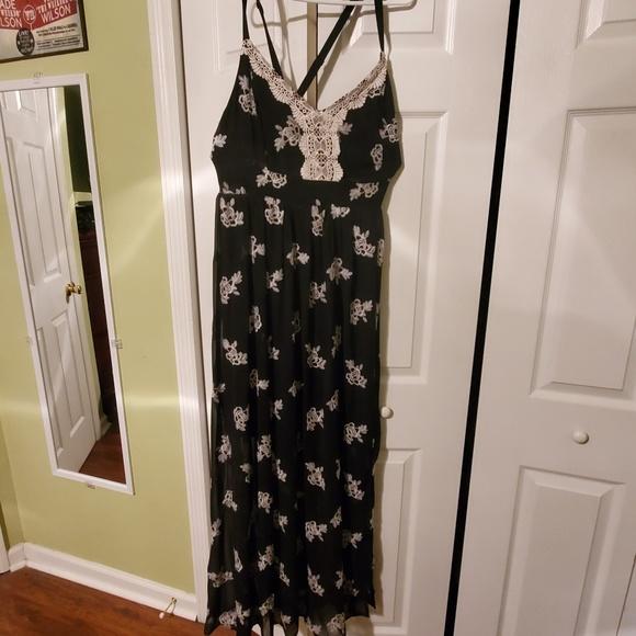 torrid Dresses & Skirts - Maxi dress with criss cross back